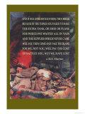 Marine's Poem Print by Cecil Calvert Beall