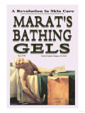 Marat's Bathing Gels: A Revolution in Skin Care Print