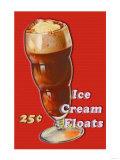 Ice Cream Float Print