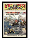 Wild West Weekly: Young Wild West and the Gulf Gang Print