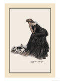 Minding the Felines Prints by Clarence F. Underwood
