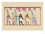 Amen-Ra, King of the Gods Print by J. Gardner Wilkinson
