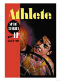 Athlete Sport Stories Print