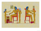 Ramses III Playing at Draughts Prints by J. Gardner Wilkinson