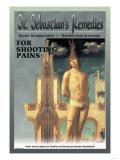 St. Sebastian's Remedies Premium Giclee Print