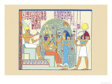 Atum, Ramses II and Sefekh Prints by J. Gardner Wilkinson