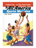 The All-America Sports Magazine: Fumbled Fouls Affiches