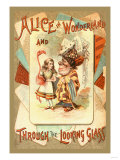 Alice in Wonderland and Through the Looking Glass Prints