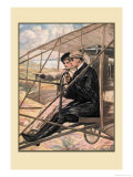 The Flying Machine Prints by Clarence F. Underwood