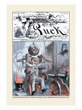 Puck Magazine: An Apparatus Prints by F. Graetz
