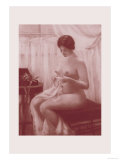 Nude in the Parlor Prints by M. Everart