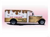 Ice Cream Truck Posters