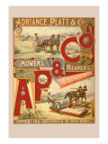 Adriance, Platt and Co., Mowers, Reapers and Binders Posters