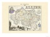 Allier Kunstdrucke von Alexandre Vuillemin