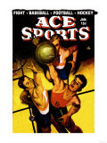 Ace Sports: Basketball Print
