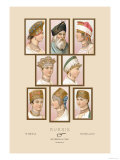 Russian Hats and Hairstyles Posters by Racinet