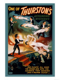 One of Thurston's Astounding Mysteries: Levitation Posters