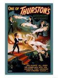 One of Thurston's Astounding Mysteries: Levitation - Poster