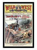 Wild West Weekly: Young Wild West's Great Scheme Posters