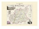 Bses Alpes Print by Alexandre Vuillemin