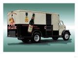 Fox Deluxe Beer Truck Prints