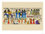 Celebration from a Tomb at Thebes Prints by J. Gardner Wilkinson
