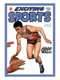 Exciting Sports: Hoop Magic Posters