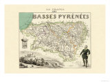 Basses Pyrenees Poster by Alexandre Vuillemin