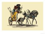 Egyptian Chariot Plakaty autor J. Gardner Wilkinson