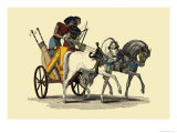 Egyptian Chariot Prints by J. Gardner Wilkinson