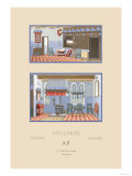 Middle-Class Dutch Home Prints by  Racinet