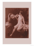 Nude with a Lion Posters by Emile Tabary