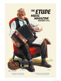 The Etude: Long, Long Ago Affiche par Alan Foster