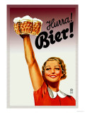 Harra! Bier! Posters af Gericault