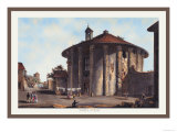 Temple of Vesta Prints by M. Dubourg