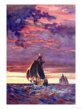 Santa Maria Prints by Gregory Robinson