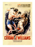 Cerdan vs. Williams Posters