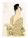 The Hedonist Print by Utamaro Kitagawa 