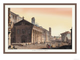 Temple of Fortuna Virilis Prints by M. Dubourg