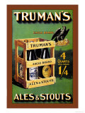 Truman&#39;s Ales and Stouts Posters by Frances Smith