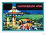 Colonizing the Ocean Bottom Posters by Julian Krupa