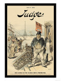 Judge Magazine: The Lament of the Seaside-Hotel Proprietor Poster von Victor