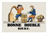 Bonne Double Bier Poster