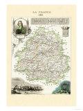 Dordogne Kunstdrucke von Alexandre Vuillemin