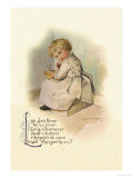 Little Jack Horner Print by Maud Humphrey