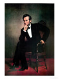 Abraham Lincoln Poster par George Peter Alexander Healy