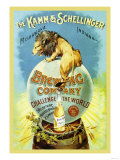 The Kamm and Schellinger Brewing Company: Challenge the World Poster