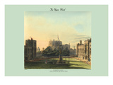 The Upper Ward - Windsor Castle (Exterior) Posters by C. Wild
