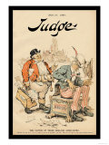 Judge Magazine: The Clutch of Those English Syndicates Posters by Grant Hamilton