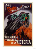 Vehicles of Victory Print
